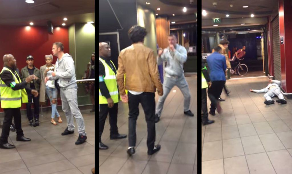 Drunk Man Gets Knocked Out By Lad In London McDonalds 16