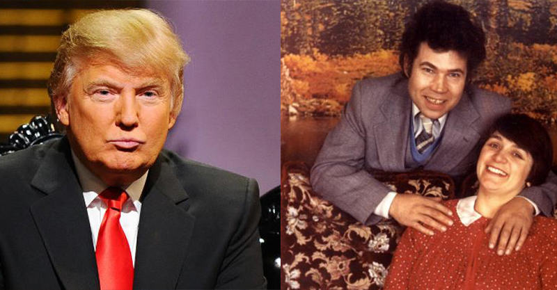 Donald Trump Trolled Into Retweeting Pic Of Fred And Rose West 21