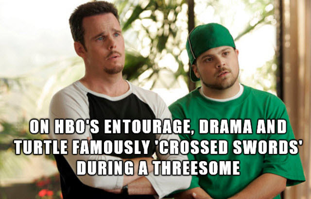 13 Facts You Need To Know About Threesomes  Entourage threesome