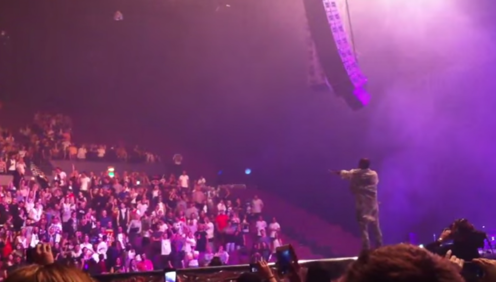 Kanye West Calls Out Disabled Fan For Not Standing Up Screen Shot 2014 09 15 at 12.18.17 2