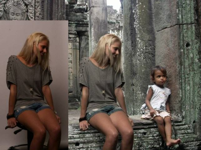 Dutch Girl Fakes Dream Travelling Holiday Using Photoshop ad 145322944 e1410342350853