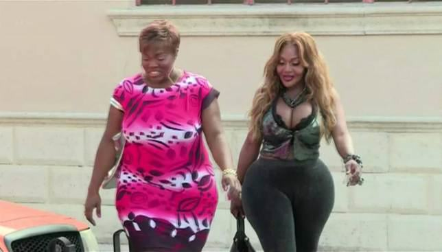 Miami Woman Pays $60,000 For 60 Inch Bum ad 146790237