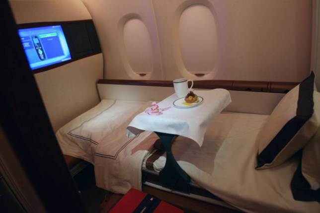 Onboard Airliners With Insane First Class Cabins ad 147079603