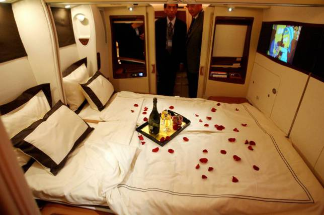 Onboard Airliners With Insane First Class Cabins ad 147079611