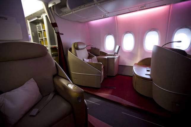 Onboard Airliners With Insane First Class Cabins ad 147079627