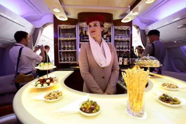 Onboard Airliners With Insane First Class Cabins ad 147079660