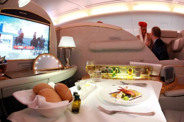 Onboard Airliners With Insane First Class Cabins ad 147079720