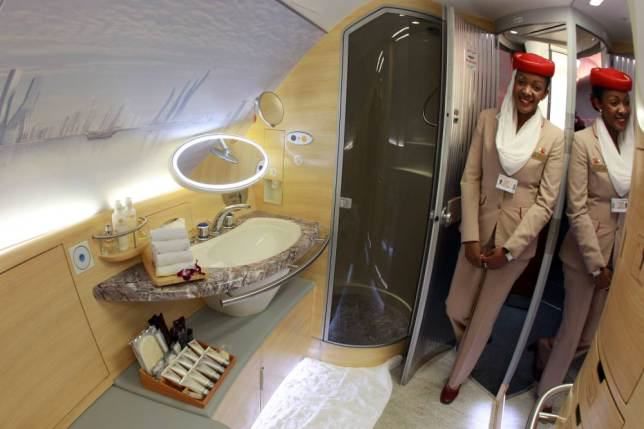 Onboard Airliners With Insane First Class Cabins ad 147079744