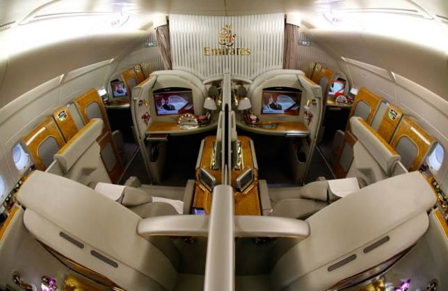 Onboard Airliners With Insane First Class Cabins ad 147080095