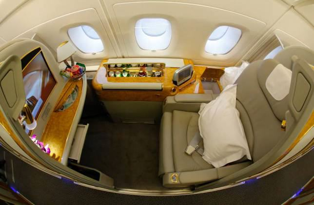 Onboard Airliners With Insane First Class Cabins ad 147080125
