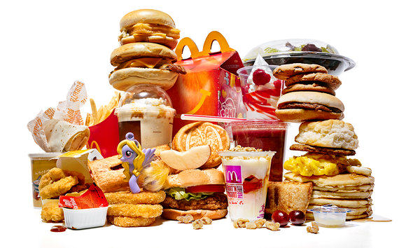 Frightening McDonalds Facts That Will Turn Your Stomach mcdonalds piled