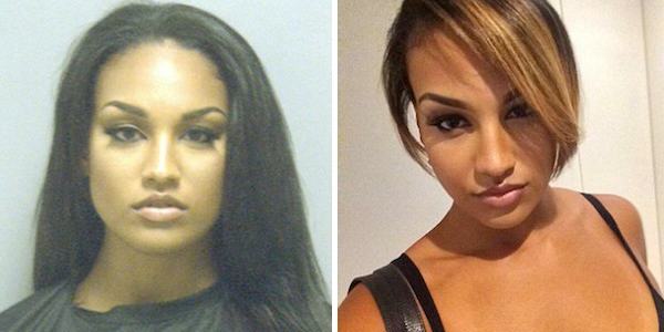 This Woman Might Just Have The Hottest Mugshot Of 2014 mugshot 1 elite daily