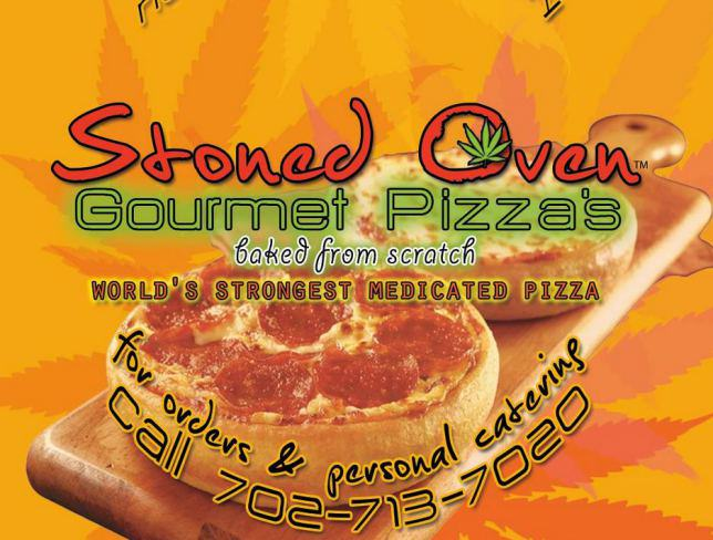 Weed Lovers, You Can Now Get Weed Pizza stoned oven gourmet mandibles