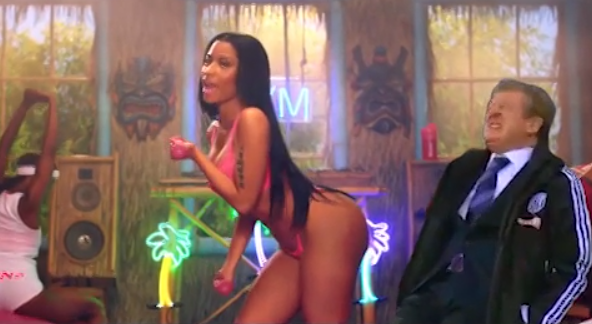 Roy Hodgson In Nicki Minajs Anaconda Video Is Amazing 1