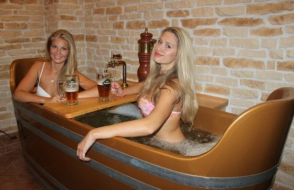 Beer Spa In Prague Allows You To Get Wasted While Bathing In Beer 1155