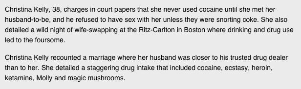 Divorce Papers Of NYC Banker Read Like Real Life Wolf Of Wall Street 2