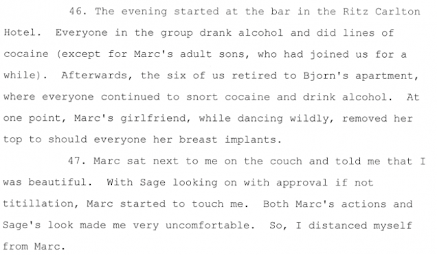 Divorce Papers Of NYC Banker Read Like Real Life Wolf Of Wall Street 3