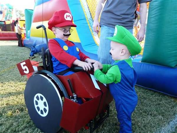 Parents Make Amazing Halloween Costumes For Their Disabled Kids McLelland 1