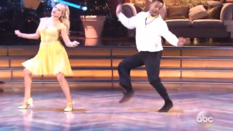 Alfonso Ribeiro Busts The Carlton Dance On Dancing With The Stars alfonso ribeiro the carlton dancing with the stars