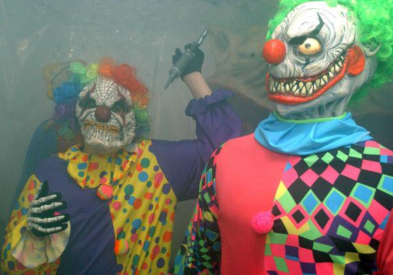 Mum And Daughter 'Assaulted By Haunted House Clowns With Sex Toys image
