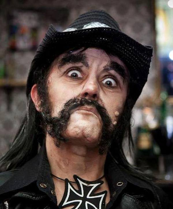 This Makeup Artists Transformations Are Unreal lemmykilmister motorhead