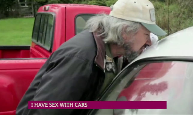 This Man Has Had Sex With Over 700 Cars man who has sex with cars 3