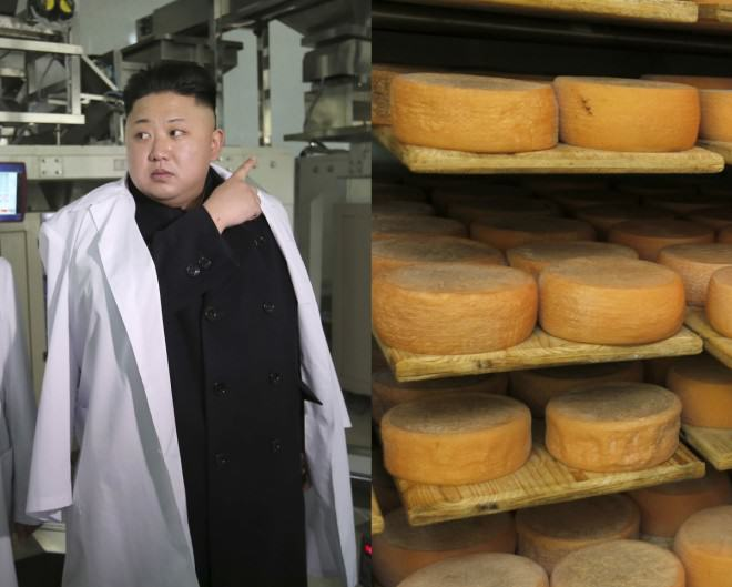 Kim Jong Un Broke His Ankles After Eating Too Much Cheese north korean kim jong french cheese emmental enil 1