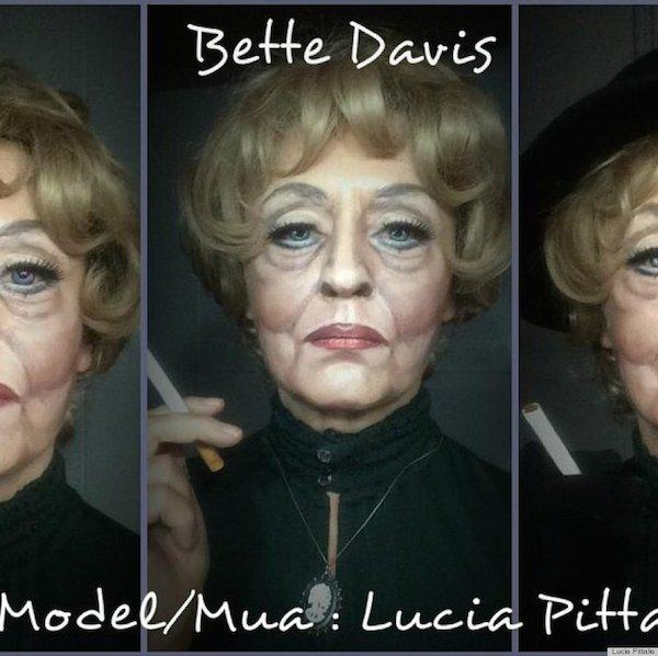 This Makeup Artists Transformations Are Unreal o BETTE DAVIS MAKEUP 900