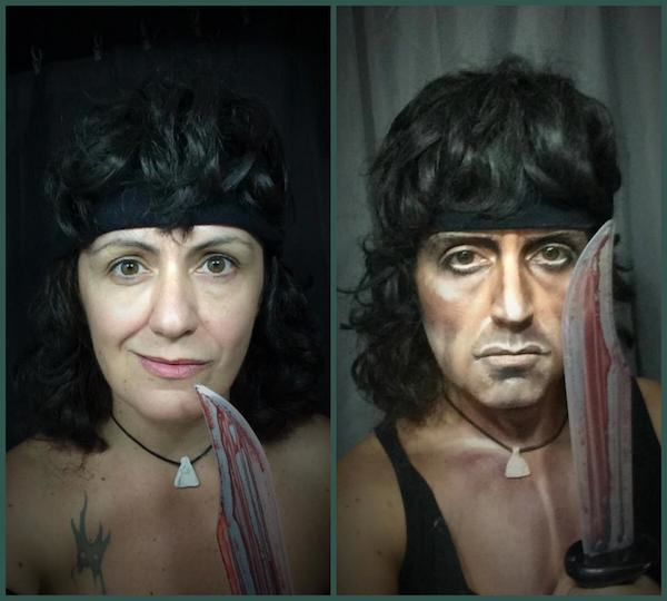 This Makeup Artists Transformations Are Unreal rambo