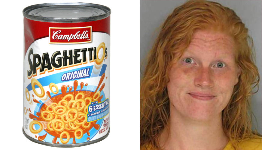 Woman Spends Month In Prison After Police Mistake SpaghettiOs For Meth spaghettios1