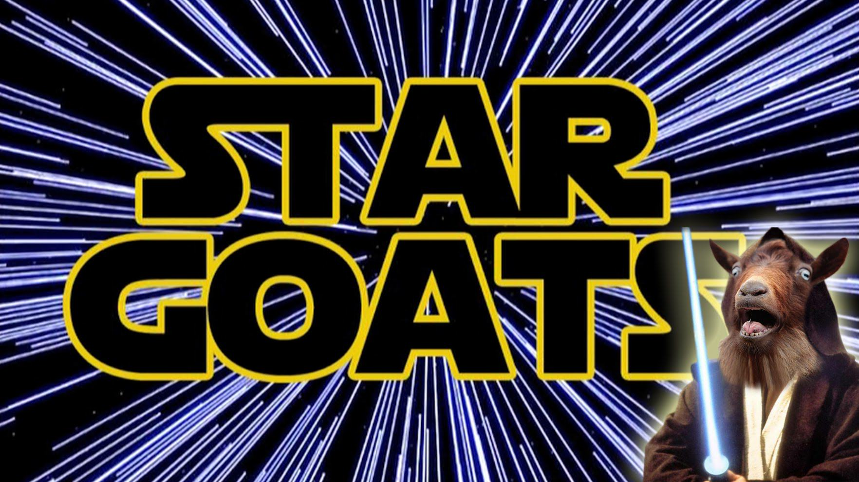 Star Wars Theme Tune Sang By Goats star goats a yelling goats versi