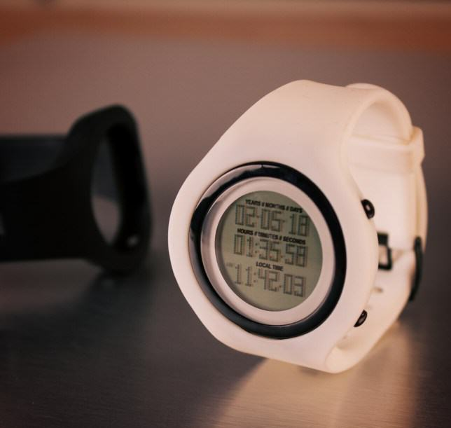 This Life Expectancy Watch Counts Down To Your Death white watch e1412235845592