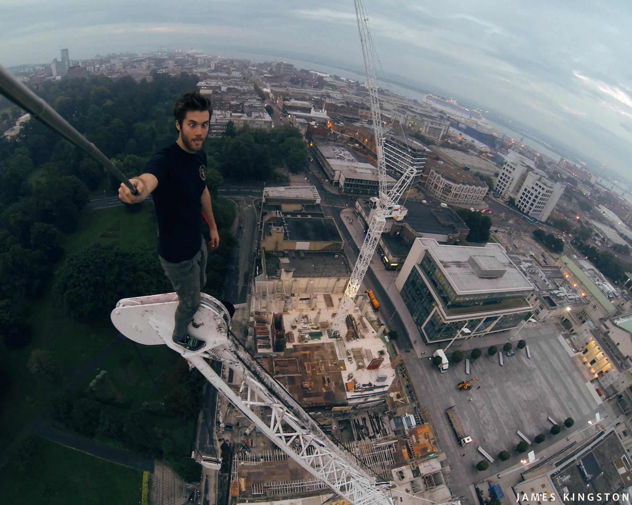 Free Runner James Kingston Released One Of His Craziest Stunts Yet 10714482 695567173871814 1979079358967825195 o