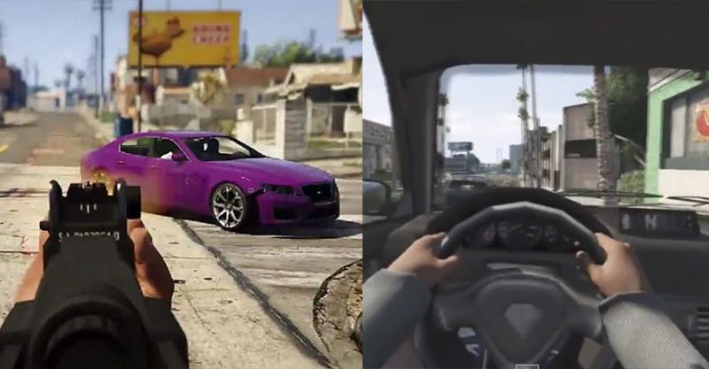 GTA V In First Person   Its Coming 214