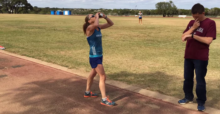 Mum Of Six Destroys Beer Mile Race, Smashes New Record On First Attempt 226