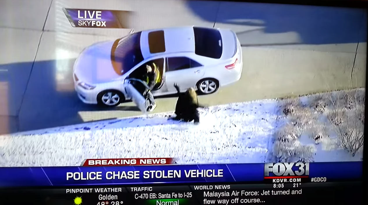Possibly The Greatest Real Life GTA Chase Of All Time 227