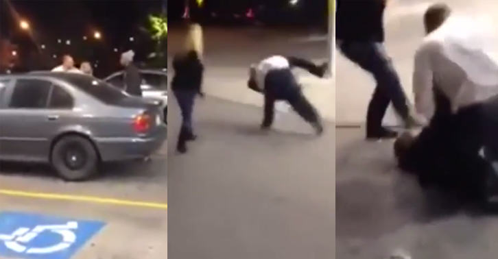 Scumbag Punches Guys Girlfriend Then Gets Absolutely Ruined By Him 233
