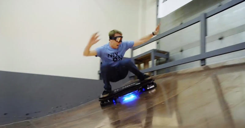 Tony Hawk Rides Worlds First Real Hoverboard 262