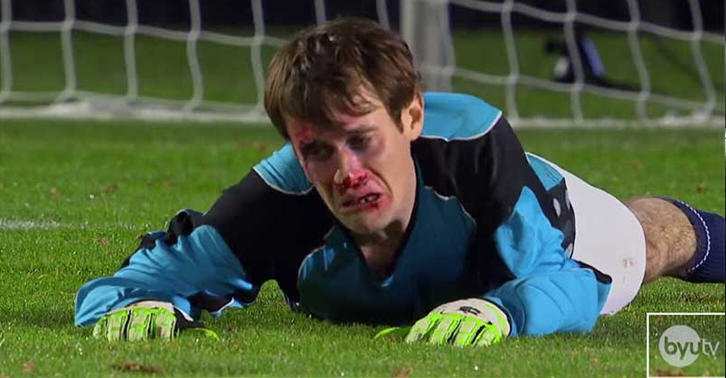 Goalkeeper Painfully Saves Multiple Penalties With His Face 271