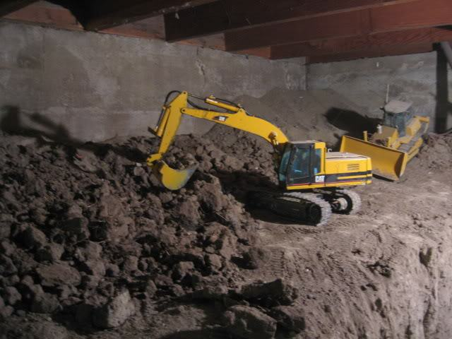Guy Spends 9 Years Digging Out Basement With Remote Controlled Diggers Joe Basement 325