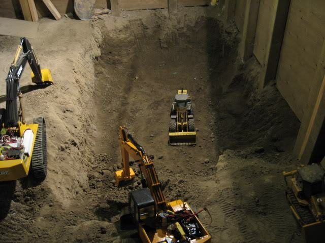 Guy Spends 9 Years Digging Out Basement With Remote Controlled Diggers Joe Basement 492