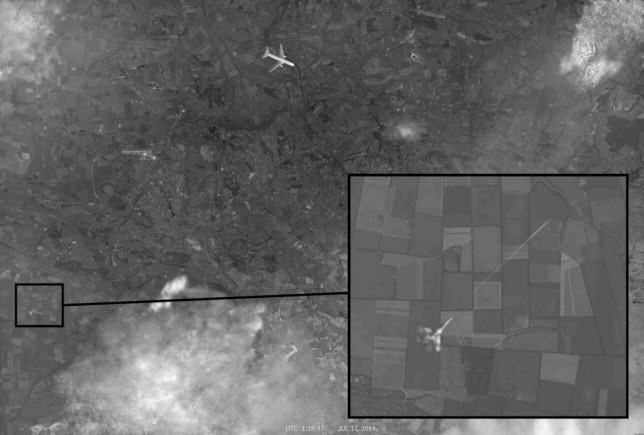 Russia Blames Ukraine For Downed Malaysian Flight MH17 With Conclusive Photo Evidence MH17 2