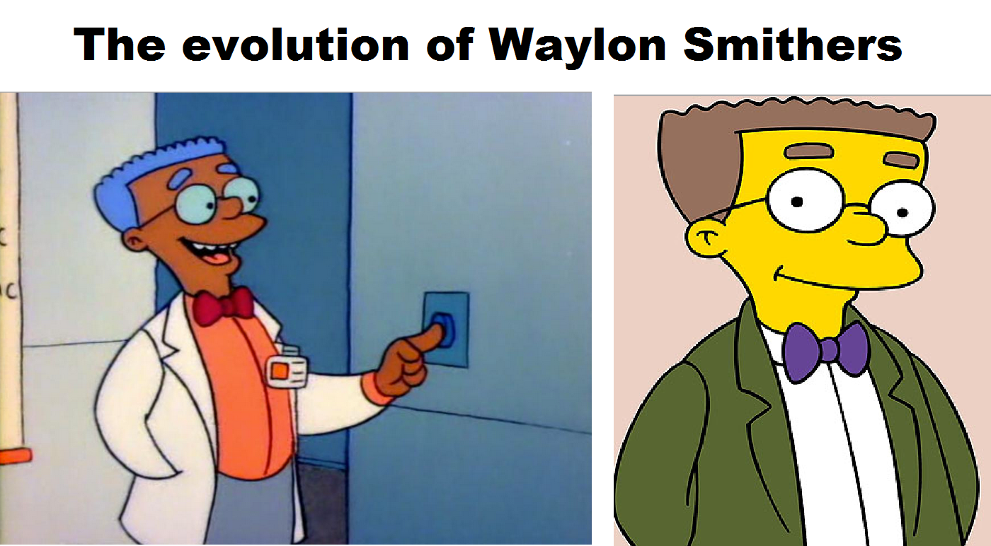 Why Smithers From The Simpsons Was Originally Black Oh simpsons 8b157a 4265415
