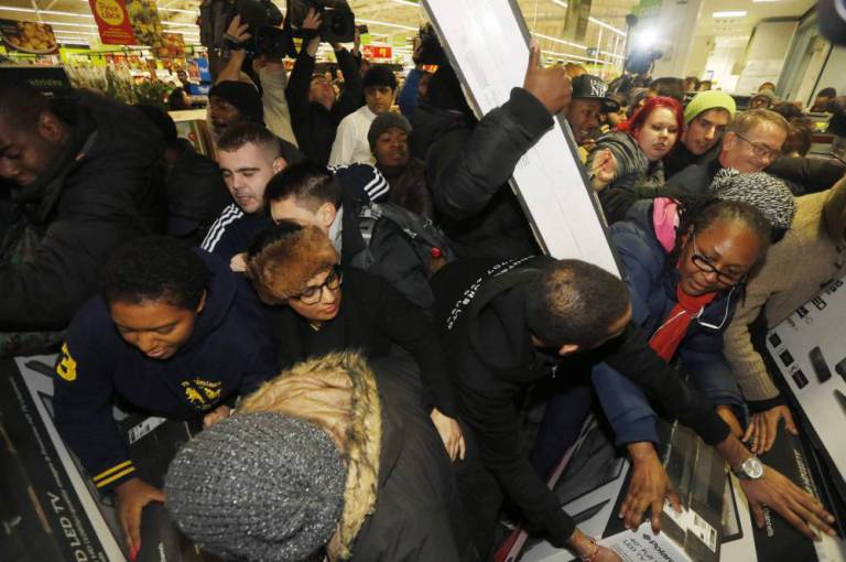 Black Friday Is Here, And You All Look Like Morons ad 153103252