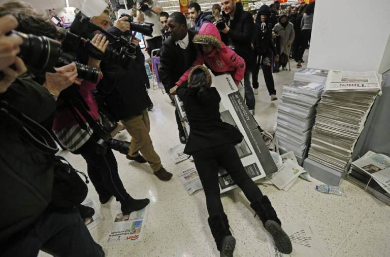 Black Friday Is Here, And You All Look Like Morons ad 153103700