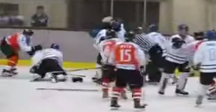 China Vs Japan In Massive Ice Hockey Brawl hockey web thumb