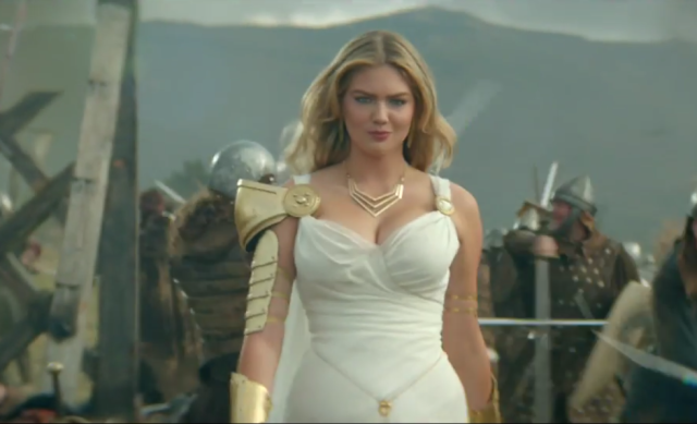 Kate Upton Is Firing All Cylinders In New Game Of War Advert kate upton game of war