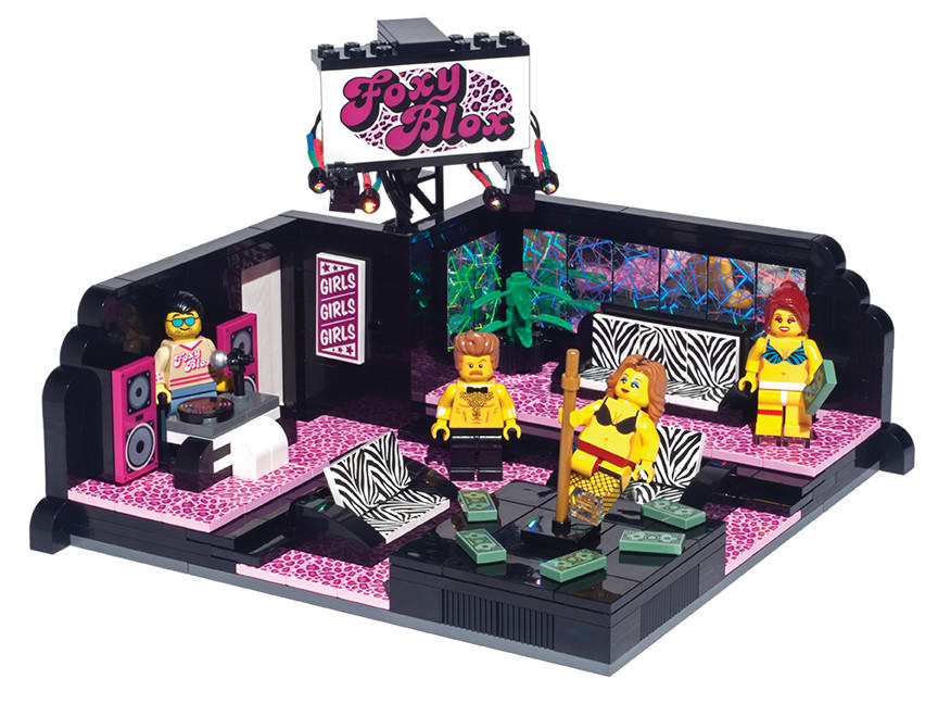 Christmas Present Sorted, You Can Now Buy Lego Strip Clubs lego 1