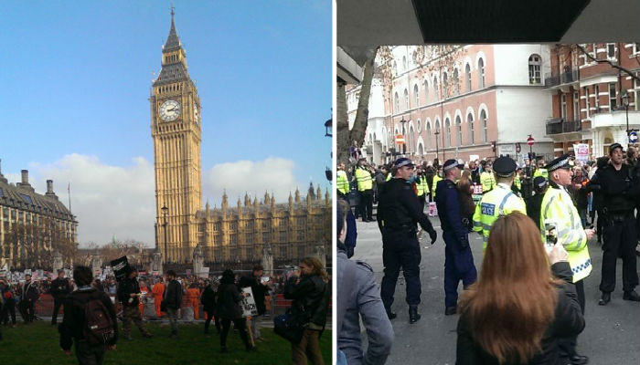 We Spoke To A Student Activist Who Was At The London Protests Yesterday protests web thumb