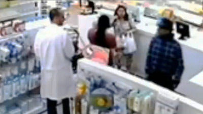 Chemist Completely Ignores Gunman Robber, Wins At Life quirkies 7fdd97b5d6efe5ae237faba480db52c1